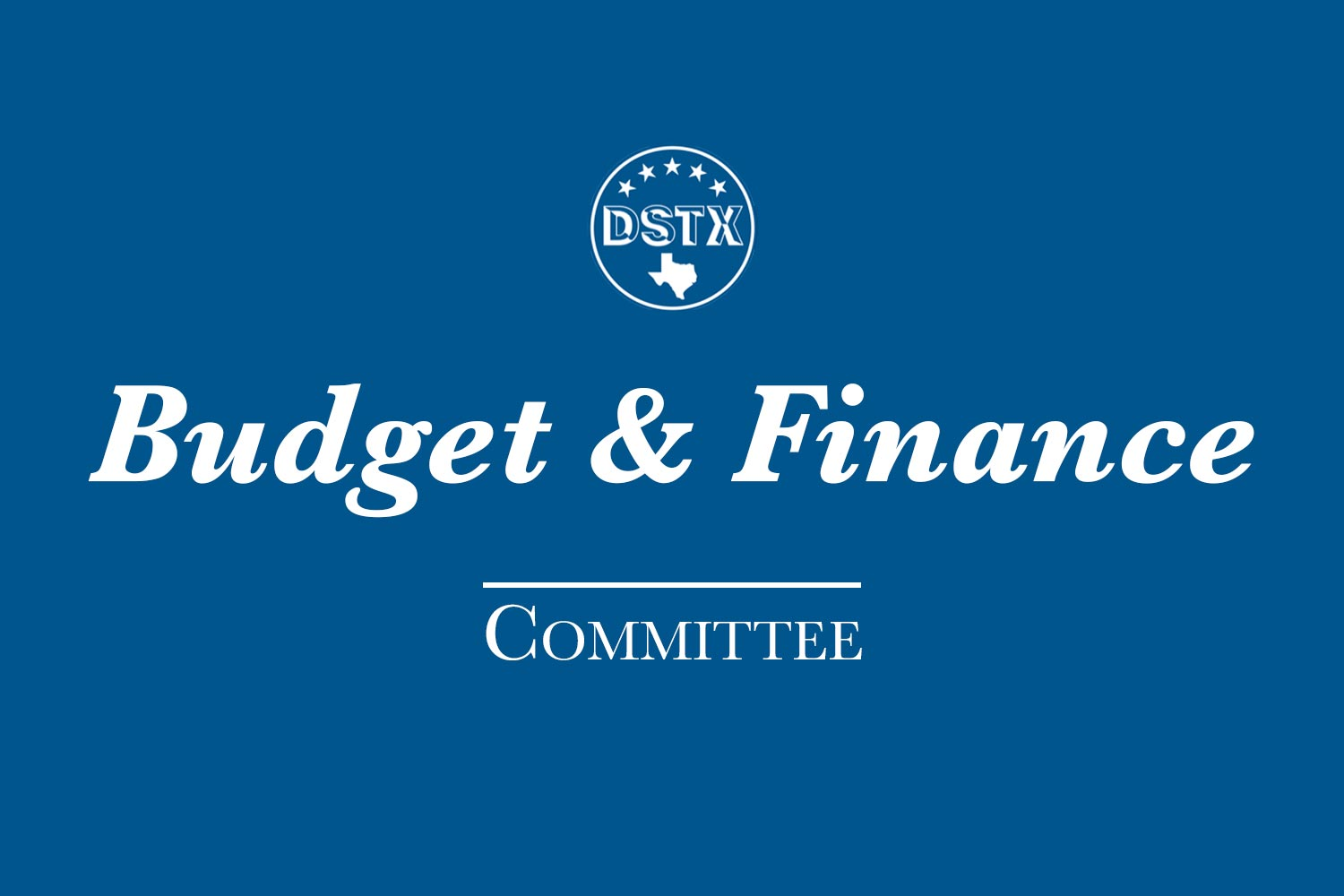 Budget & Finance Committee