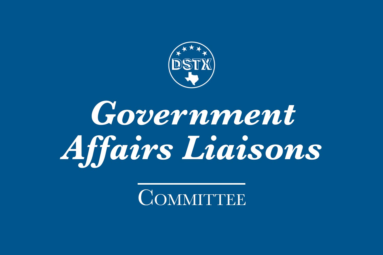 Government Affairs Liaisons